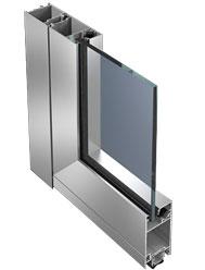 внутренняя дверь из алюминия