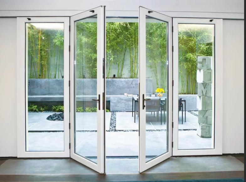 штульповые алюминиевые двери